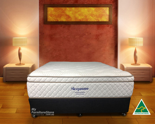 DOUBLE MASTERPIECE POCKET SPRING MATTRESS - ULTRA PLUSH