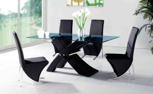 BARCELONA (H0171) DINING TABLE ONLY - 1800(W) X 900(D) - BLACK
