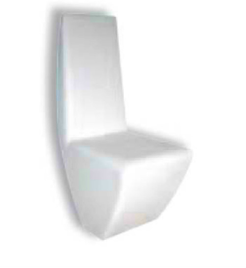 BARCELONA (M224) DINING CHAIR - BLACK OR WHITE