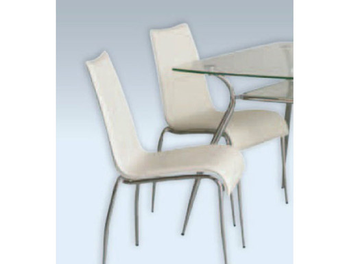 BARCELONA (CY72A) DINING CHAIR - WHITE
