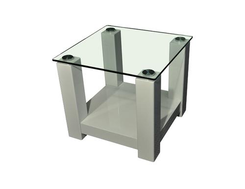 WINNIE SIDE TABLE - HIGH GLOSS WHITE