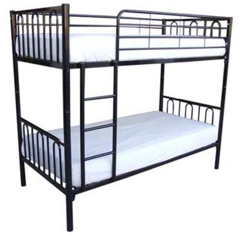 SINGLE SYDNEY BUNK BED - BLACK