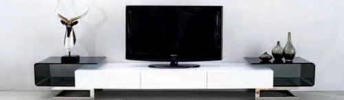 MODERN COLLECTION JULIE B TV UNIT 2600(W) x 600(D) - WHITE