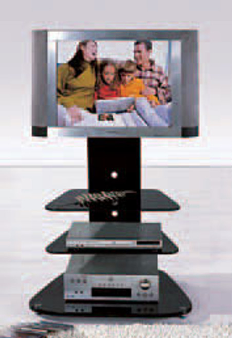 MODERN COLLECTION (T059) TV STAND - 750(W) - BLACK