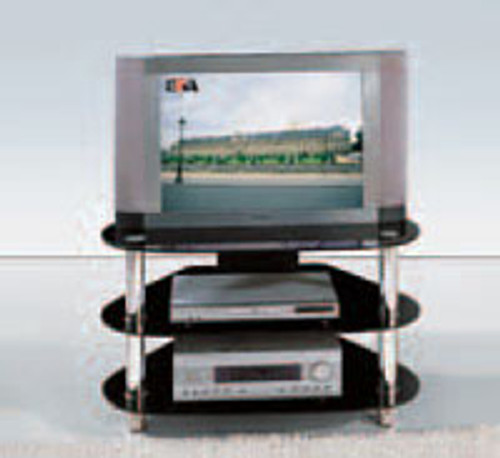 MODERN COLLECTION (T074) TV STAND - 850(W) - BLACK