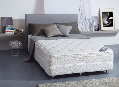 QUEEN GRACE DELUXE ENSEMBLE (BASE & MATTRESS) - MEDIUM FIRM