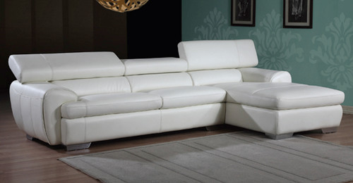 NICOLAS 3 SEATER FULL LEATHER CHAISE