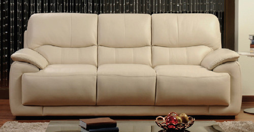 NOVARA 3 SEATER + 2 SEATER FULL LEATHER LOUNGE (ITALIAN M1) - (2 SEATER NOT PICTURED)