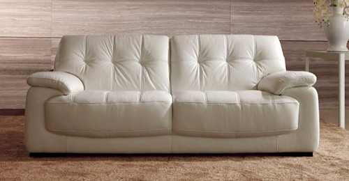 SIENNA 3 SEATER + 2 SEATER FULL LEATHER LOUNGE (ITALIAN M1/S) - (3 SEATER NOT PICTURED)