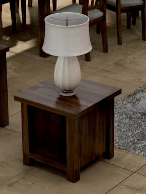 HIGH COUNTRY LAMP TABLE - GUNSMOKE