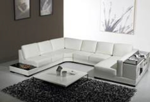 LORELLA (G1082) 2 SEATER + 2 SEATER LEATHER/ETTE COMBINATION CORNER CHAISE SUITE - ASSORTED COLOURS