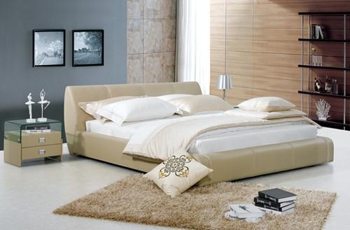 ANTOINE LOUIS QUEEN 3 PIECE BEDSIDE BEDROOM SUITE - LEATHERETTE - ASSORTED COLOURS