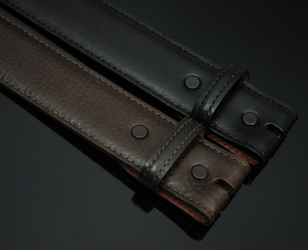 Smooth Calfskin Leather 1 1/2 inch