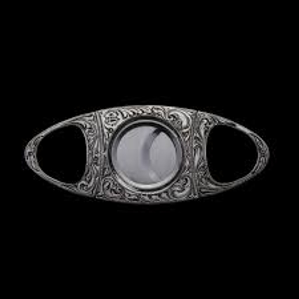 Cigar Cutter Guillotine Style Made of Sterling Silver Covered