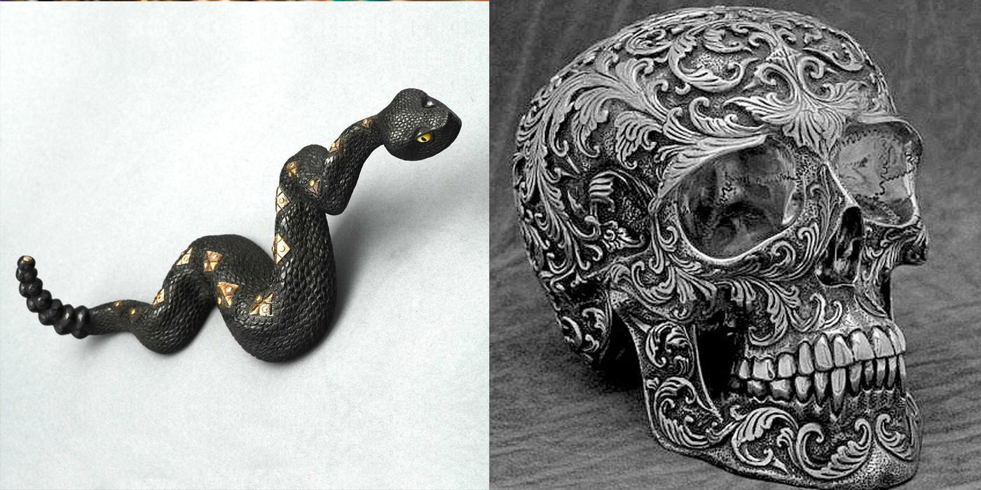 Skull Fine Art Sculptures