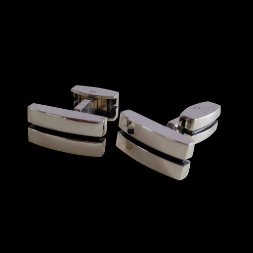 Cuff Links Sterling Silver