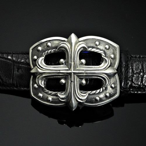 Sterling Silver Cross Buckle