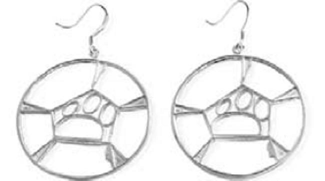 Classic Guitar / Cello Hoop Earrings