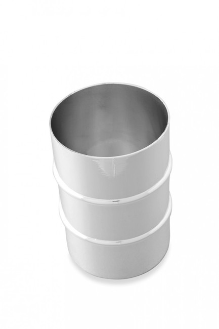 Silver Finish Bass Drum Pencil Cup