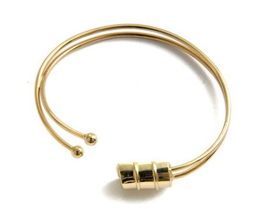 Genesis Bass Drum Gold Bracelet -Small Drum
