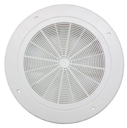 Ceiling vent round w fan white 280 x 280mm sku citf28 mozeypictures Gallery