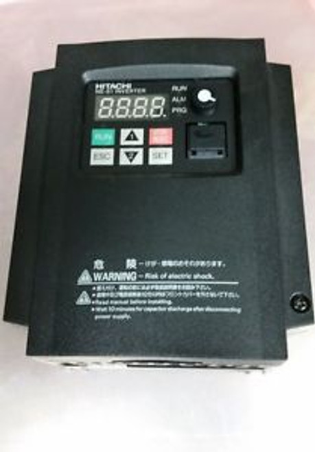 Hitachi  NES1-004LB  Replaces X200-004NFU2 1/2HP 200-240volt  3-PHASE INPUT ONLY