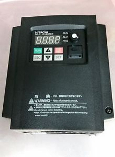 Hitachi NES1-004SB 1/2HP 1-phase In 3-phase Out 200-240volt also Phase Converter