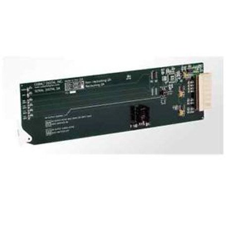 SDI Non-Reclocking Distribution Amplifier 5001