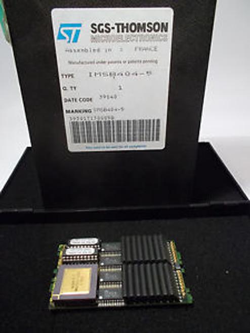 1 piece TRANSPUTER 32-bit MODULE IMSB404-5  TRAM IMST800 2MB INMOS NEW ~