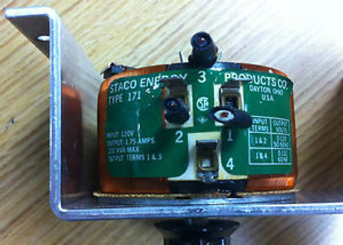 STACO VARIABLE TRANSFORMER - TYPE 171