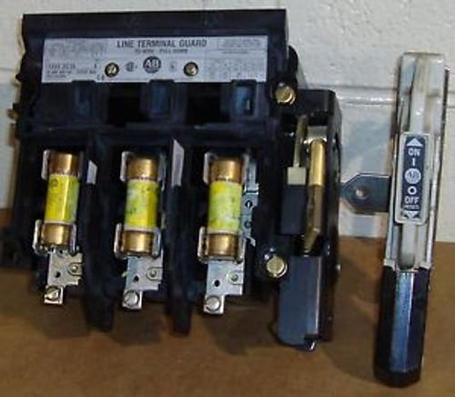 #SLS1J80 Allen-Bradley Fused Disconnect Cat# 1494v-DS30  #7635SO