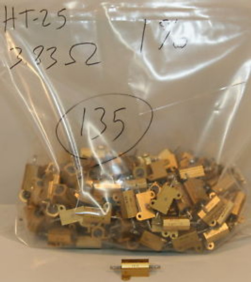 (135) OMI HT-25 Aluminium Resistors 3.83 Ohm 25 Watt 1%