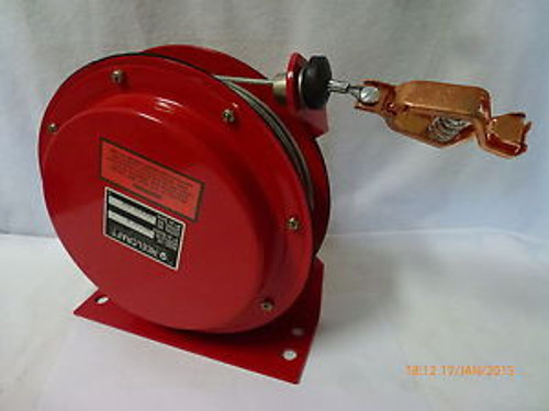ReelCraft GA3100N Static Discharge Grounding Reel 7x7 Stranded Steel Wire New