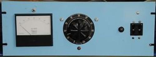 19 Rack mount metered Adjust-A-Volt Variac 0-140VAC 7½ Amps