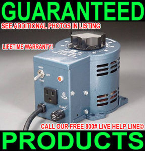 &gt NEW USA STACO 3PN1010 0-120/140V VARIABLE AC 10-AMP VARIAC LIFETIME WARRANTY