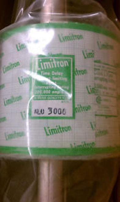 Buss Limitron KLU-3000 Fuse ( New Mint still in plastic)