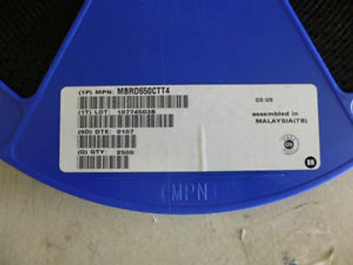 1 REEL (2500PC) MBRD650CTT4 MOTOROLA 6A 50V SMT SCHOTTKEY RECTIFIER DIODE