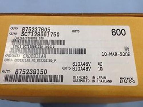 1 Box of 600 CXD2311AR 10-bit 20MSPS Video A/D Converter Integrated Circuits