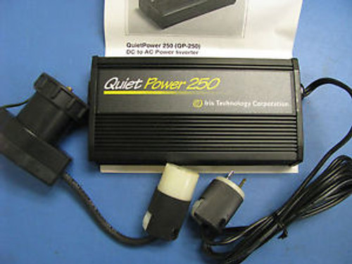 IRIS TECHNOLOGY 301A107 QUIET POWER 250 INVERTER NSN: 6130-01-496-6455 QP-250