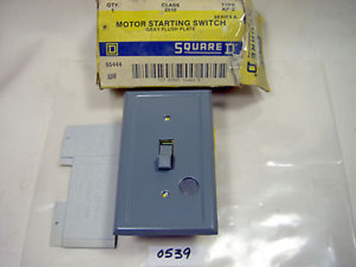 (0539) Square D 2510-KF-2 Manual Motor Starter