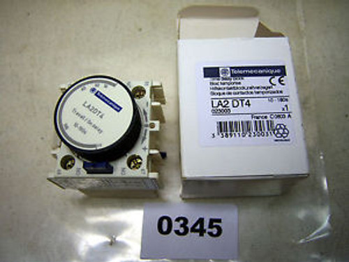 (0345) Telemecanique Time Delay Contact Block LA2DT4 10-180 SEC
