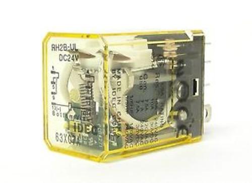 ( 10) IDEC relay RH2B-ULDC24V 50/60Hz compact power relay