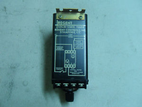 (N2-3) 1 NEW REGENT CONTROLS TM2200 TIMER