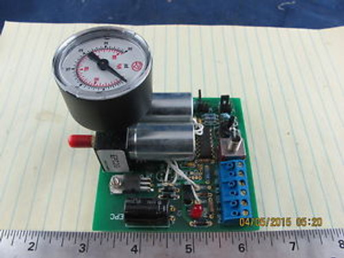 EPC2-G Field Adjustable Dual Valve Control w/Gauge Current Input to Pneumatic Ou
