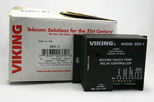Viking SRC-1 Secure Touch Tone Relay Controller - New
