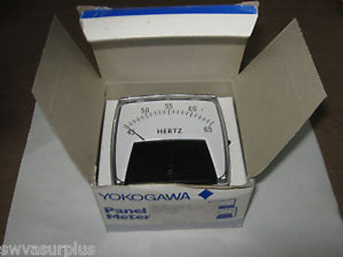 1 pc Yokogawa 254-350-AJAJ9 Frequency Meter, 45-65Hz, RTG 120V, New