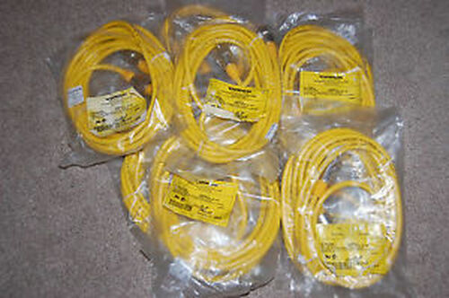 (10) NEW Turck Cable Assemblies RSM RKM (2) 30-2M  (2) 30-3M (5) 30-4M (1) 30-6M