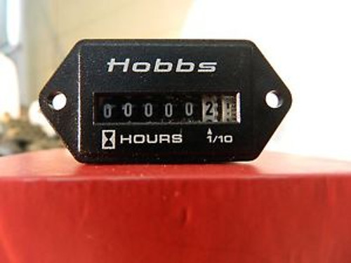 10 Pack Hobbs 120 volt hour meter.Tracks / Records elapsed time of equipment use