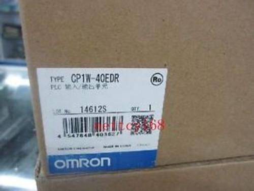 #2088--OMRONProgrammable Controller PLC CP1W-40EDR