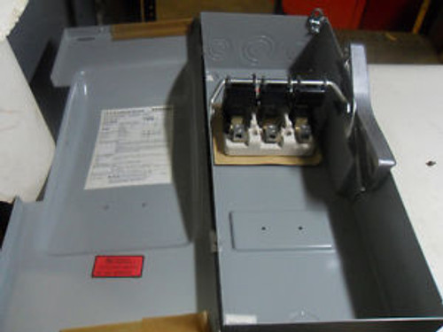 (L16) 1 NEW SIEMENS JU-323 100A ENCLOSED DISCONNECT SWITCH